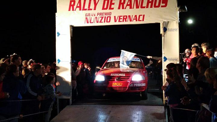 Rally en Ranchos. Su hijo Fran le regaló el primer prime