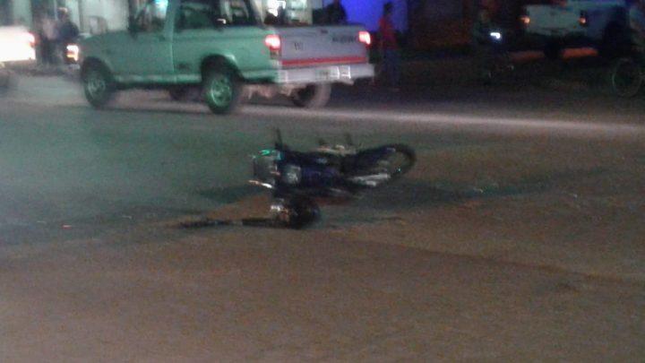 Accidente sobre Avenida Garay