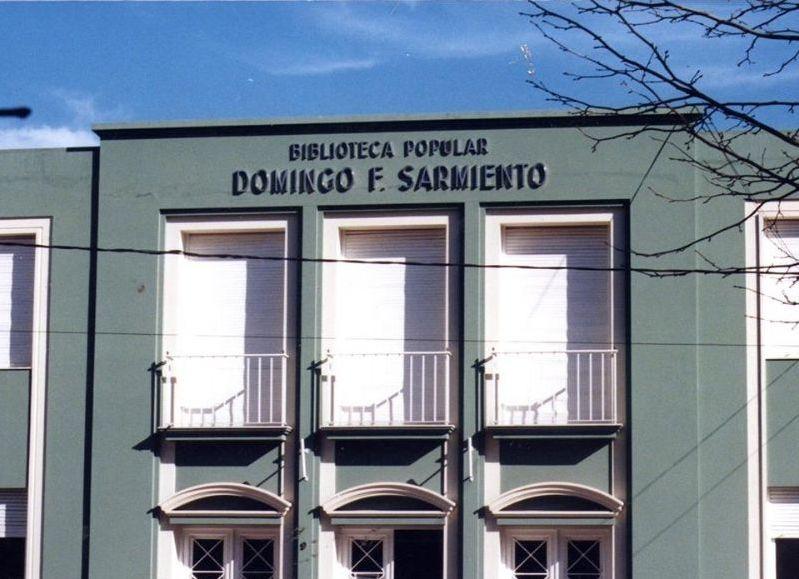 Chascomús: Campaña de venta de libros de la Biblioteca Sarmiento