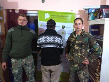 Comando de Prevención Rural General Paz: Ciudadano con pedido de Captura