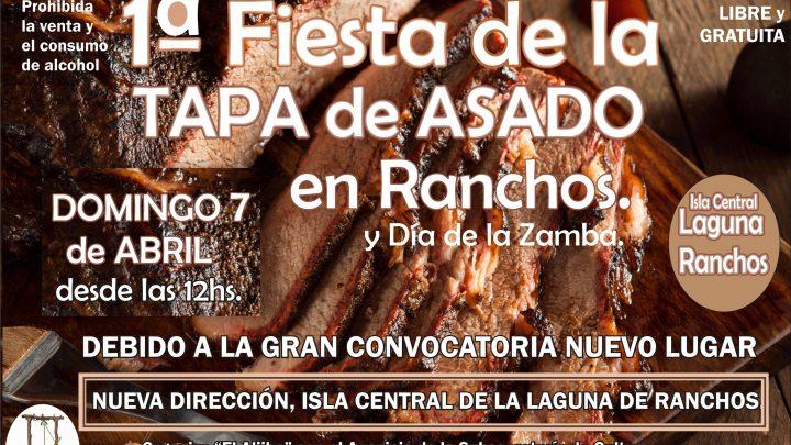 Llega este domingo la «1° Fiesta de la Tapa de Asado» a Ranchos