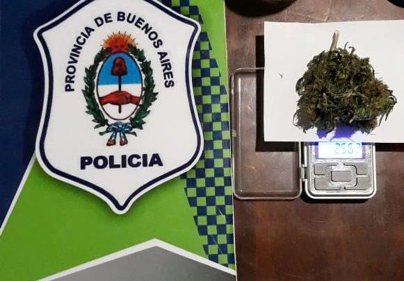 Informe de la Policía Comunal de Gral. Paz: 4 detenidos por infracción a la Ley 23.737