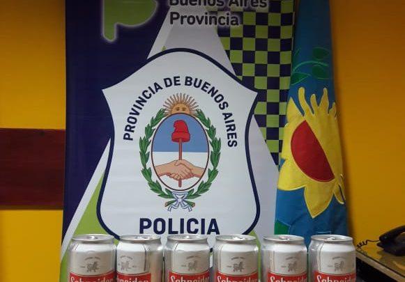 Informe de la Policía Comunal de Gral. Paz: Detenidos por infracción a la Ley 23.737