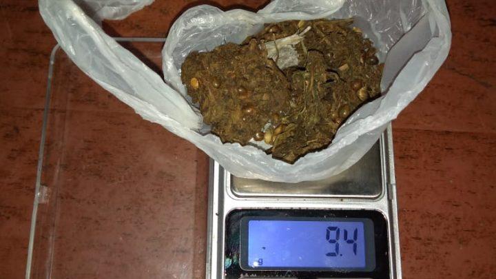 Informe de la Policía Comunal de Gral. Paz: Detenidos con Marihuana