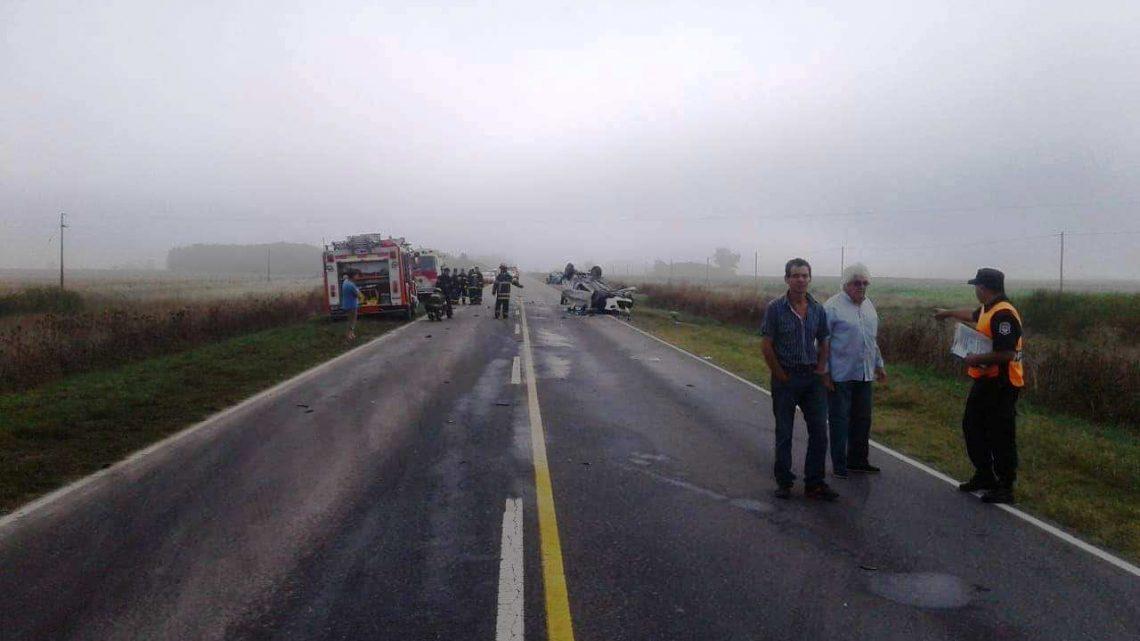 GRAVE ACCIDENTE EN LA RUTA 29