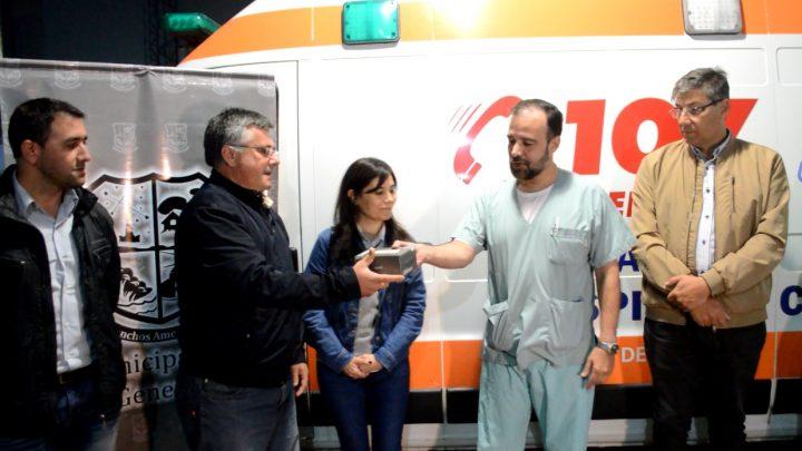 """Ranchos: GPS con sistema """"S.O.S Rural"""" para el Hospital Campomar"""