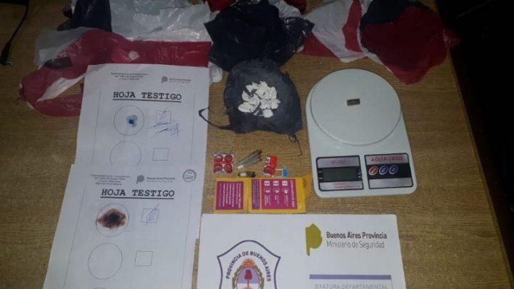 Chascomús: Un detenido por abuso de armas e infracción a la ley de drogas
