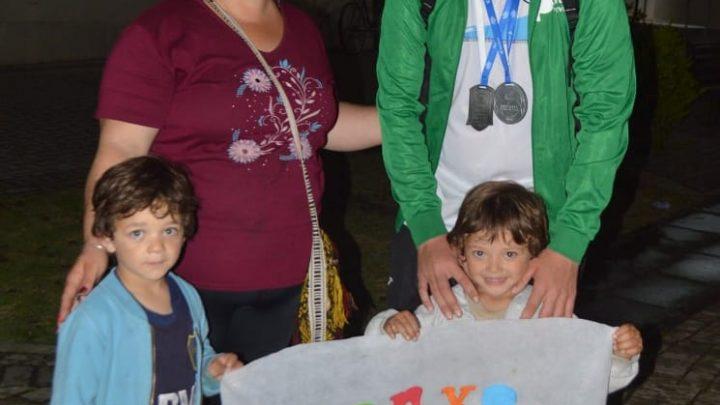 Ranchos: Regresó anoche de los Juegos Evita 2019 Brian Oporto