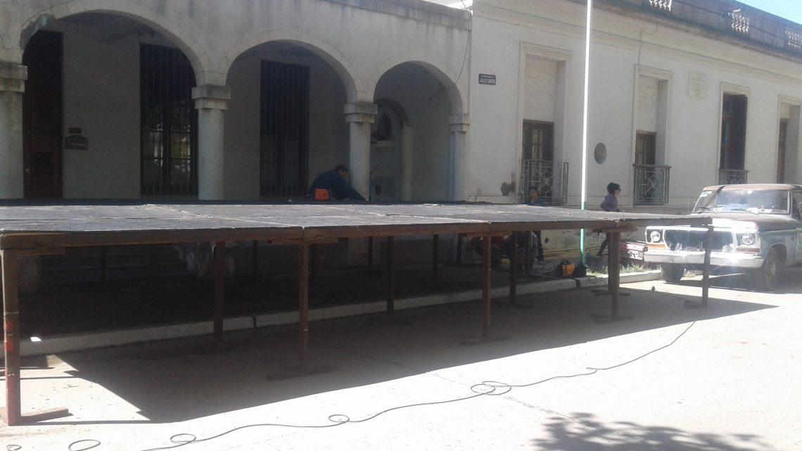 Municipalidad de General Paz: CIRCULAR CON PRECAUCIÓN EN DANTAS ENTRE  ALEM Y MITRE.