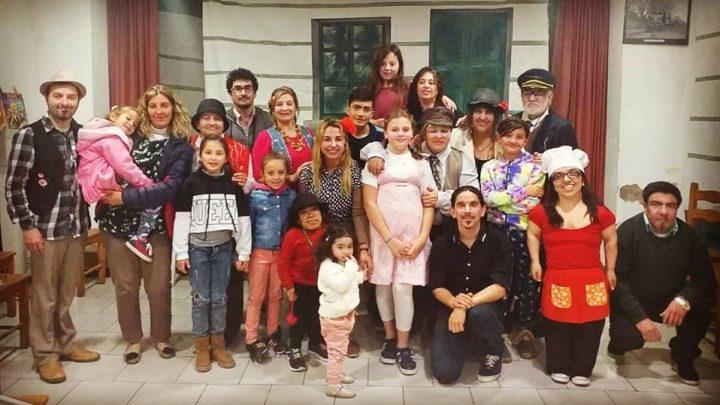 Teatro Comunitario Ranchos: Se presentó en Villanueva «Memorias del tren» en recuerdo de Christian Balenzuela.