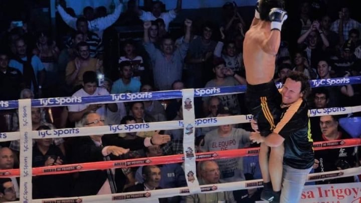 Nico Demario va por su segundo desafió internacional.-