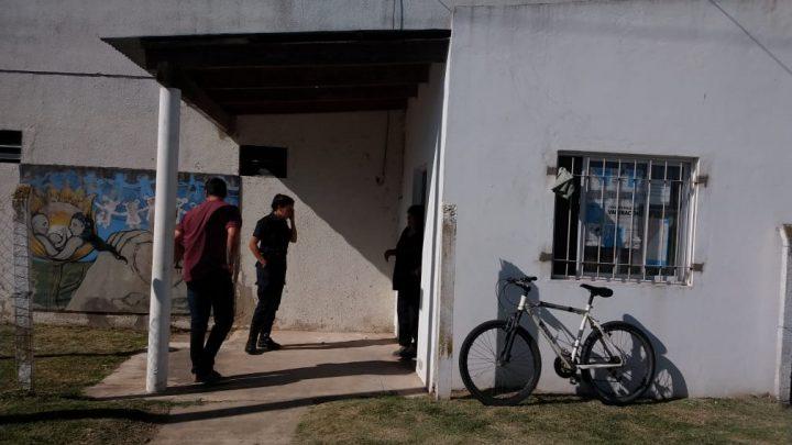 ACTOS DE VANDALISMO EN LA SALITA DEL BARRIO NUEVO