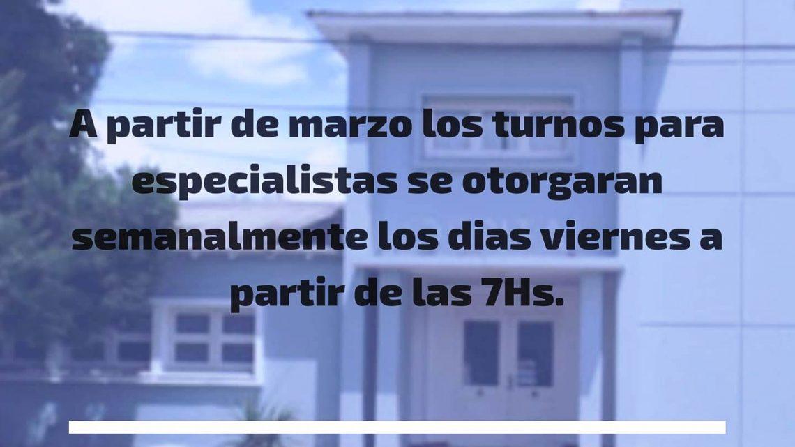 INFORMA EL HOSPITAL CAMPOMAR