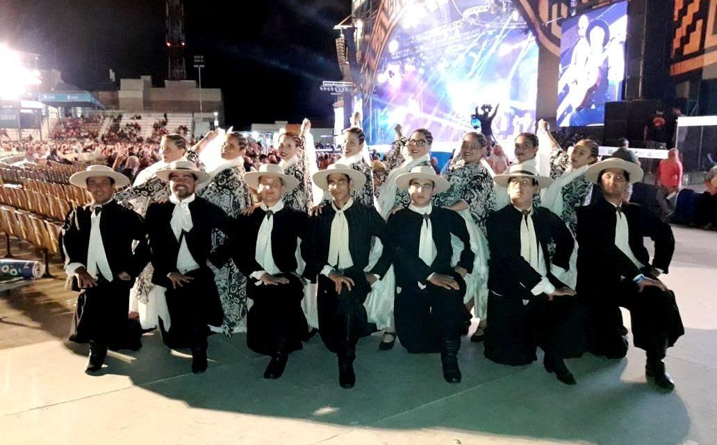 El «Ballet Folklórico Gral. Paz» agradece a Grupo TIEMPO