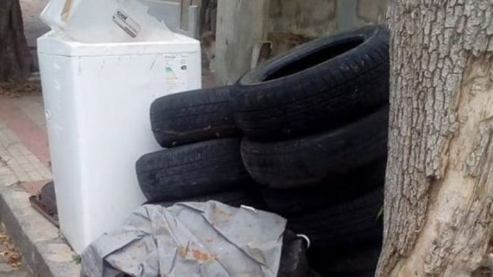 CHASCOMÚS: En tiempos de cuarentena: basura, basura y más basura