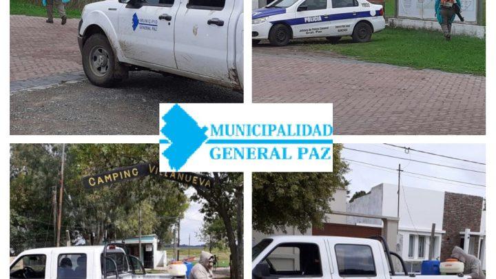 EL MUNICIPIO TRABAJA EN EL PREVENCIÓN  DEL DENGUE.