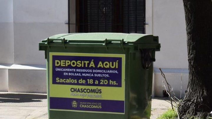 CHASCOMÚS: Jueves 9 y viernes 10 no habrá recolección de residuos en ningún sector de la ciudad