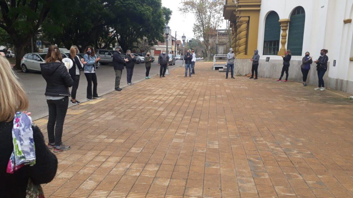 Chascomús: Protesta de Comerciantes frente al Municipio