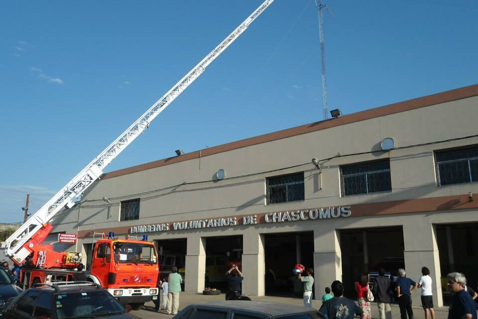Cumple 60 años la Sociedad de Bomberos Voluntarios de Chascomús