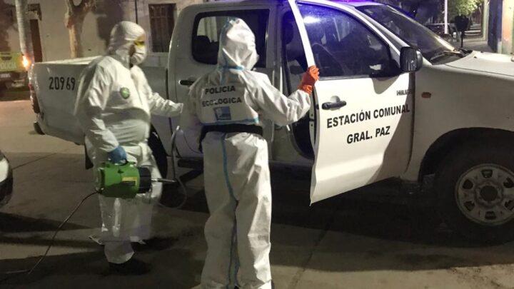 Informe de la Policía Comunal de Gral. Paz