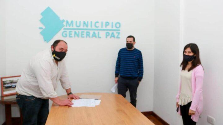 Gral. Paz: LUEGO DE LA CORRESPONDIENTE APROBACIÓN, EL INTENDENTE FIRMÓ EL LEASING