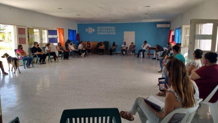 REUNIÓN INTERSECTORIAL CON LAS FAMILIAS DEL BARRIO NÉSTOR KIRCHNER