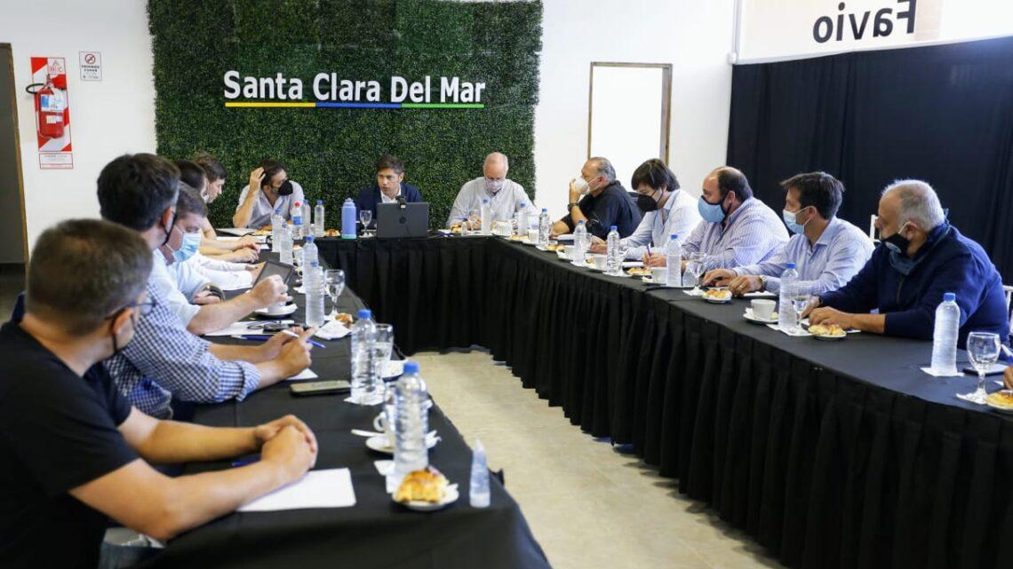 EL INTENDENTE PARTICIPÓ DE UNA REUNIÓN CON EL GOBERNADOR KICILLOF