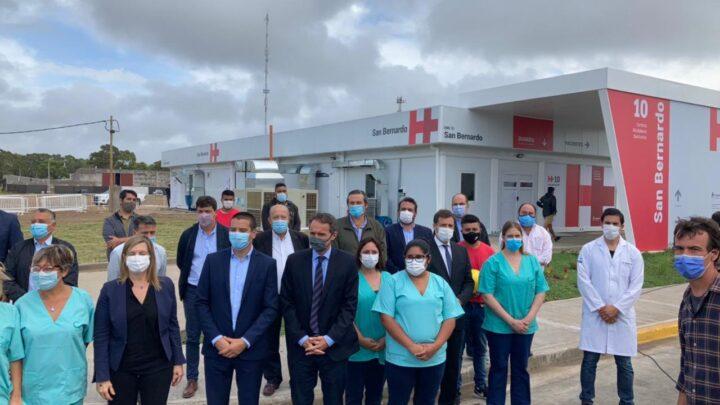 EL INTENDENTE PARTICIPÓ DE UN ACTO CON AUTORIDADES DEL GOBIERNO NACIONAL