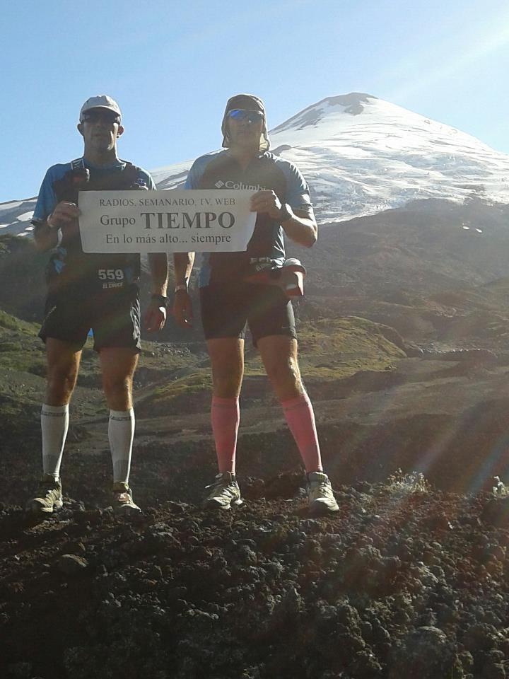 EXCLUSIVO: «La carrera del cruce de los Andes fue mucho mas dura de lo pensado…» le dijo a TIEMPO hoy J. C. Southwell