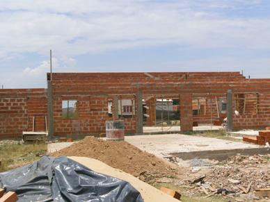 En Ranchos: Avanza la construcción del Centro Integrador Comunitario