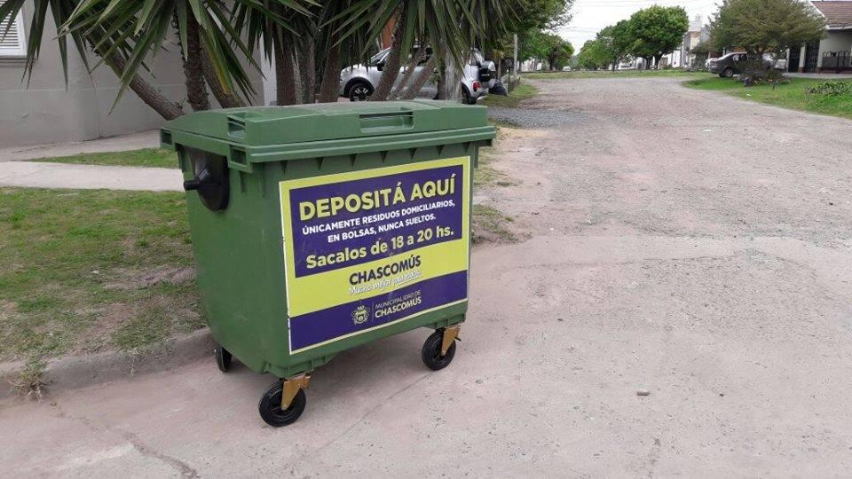 CHASCOMÚS: Fin de semana sin recolección de residuos domiciliarios