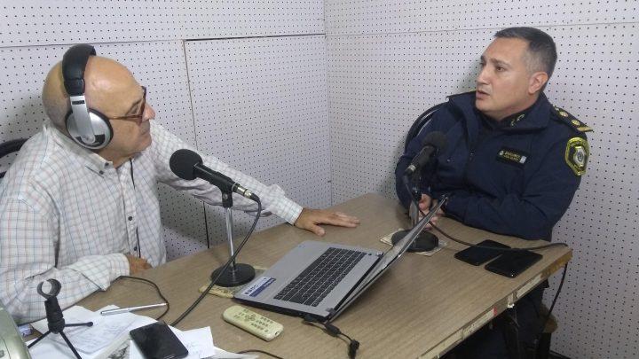 Entrevista a Patricio Caballero Comisario Inspector de Gral. Paz