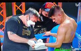 Boxeo: El «trencito» Sánchez perdió por puntos