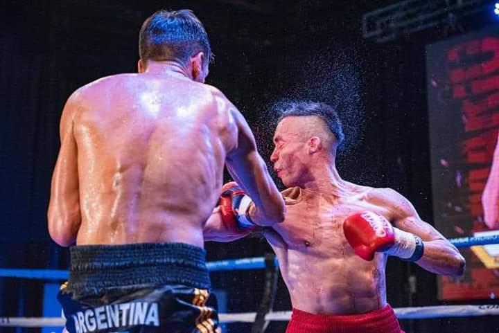N. Demario gano por KO en el tercer round