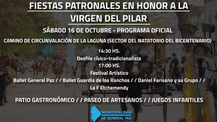 FESTEJOS PATRONALES EN HONOR A LA VIRGEN DEL PILAR